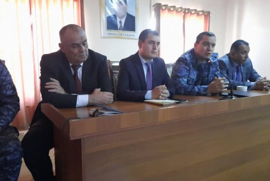 Сафари хизматӣ ба вилояти Хатлон